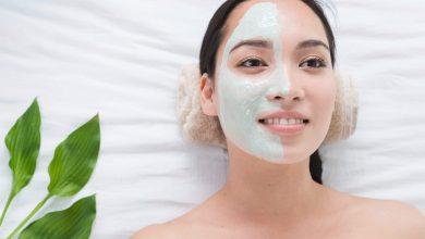 Skincare mask exfoliate