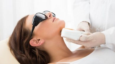 laser beauty treatment