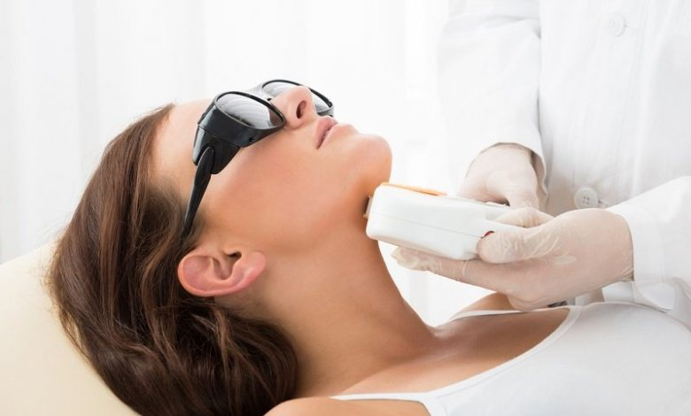 laser beauty treatment