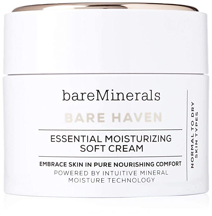 BareMinerals Bare Haven Essential Moisturizing Soft Cream, 1.7 Ounce