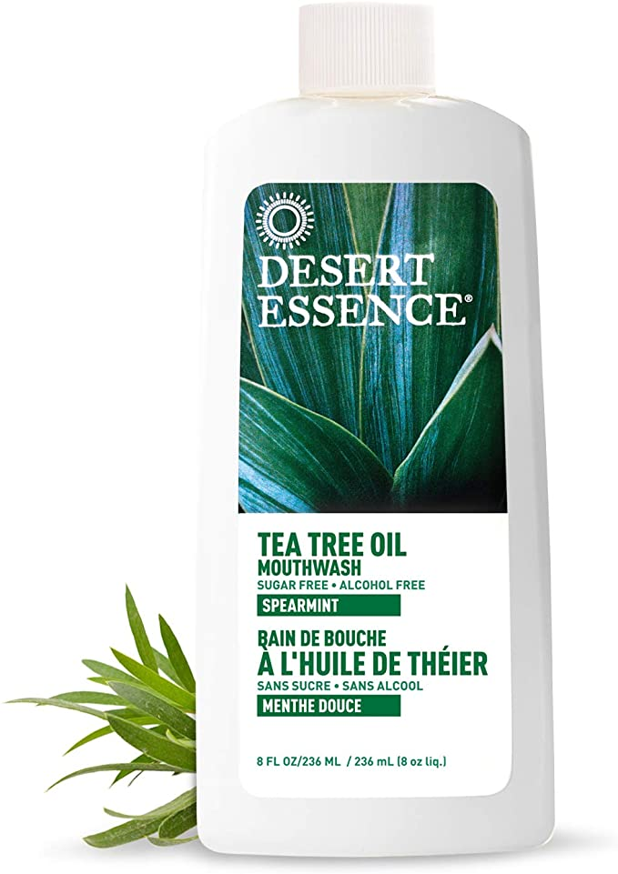 Tea tree oil mouth wash