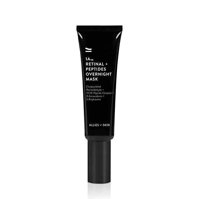 Allies of Skin 1A Retinol and Peptides Overnight Mask