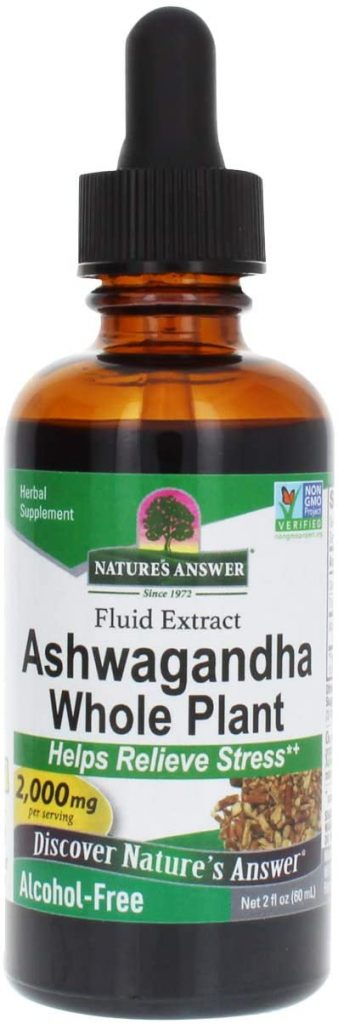 Nature's Answer - Ashwagandha Root