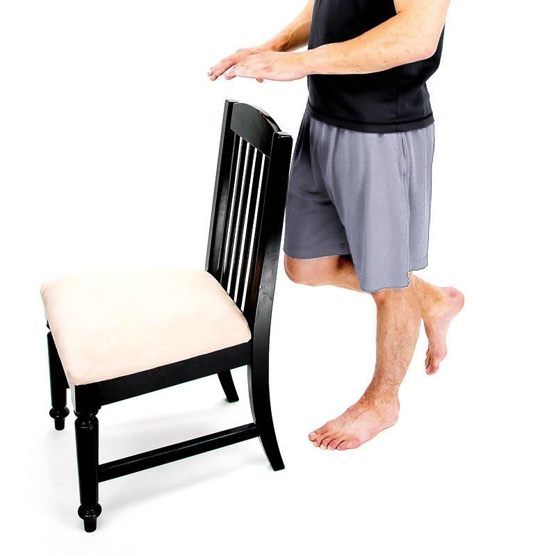 senior workout - single limb stance