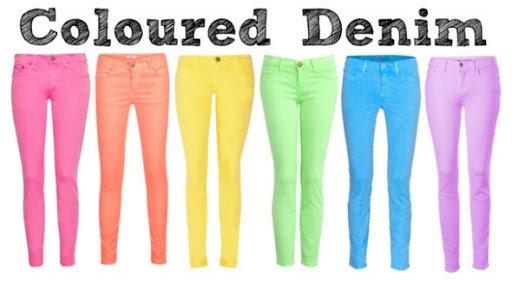 Coloured Denims