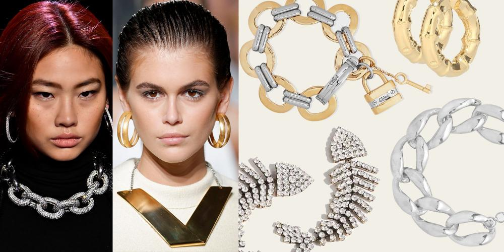 Oversized Chains and Hoop Rings