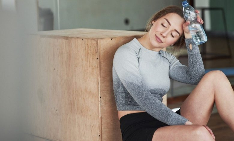 Reason to feel fatigue when working out