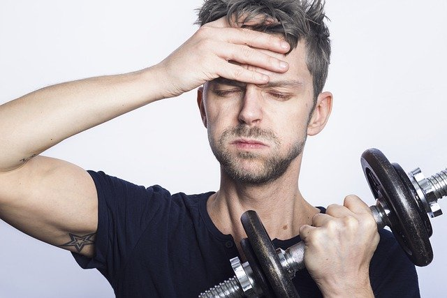 feel fatigued easily when working out