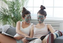 Clay mask natural home beauty