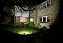 Garden exterior lighting