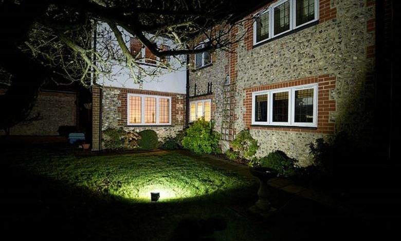 Garden exterior lighting