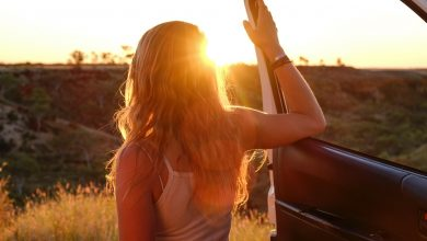 Girl road trip
