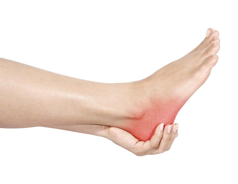 Heel chronic pain