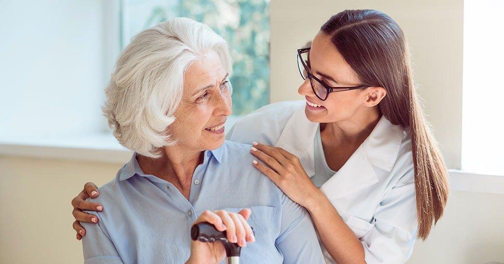 Caregiver for senior