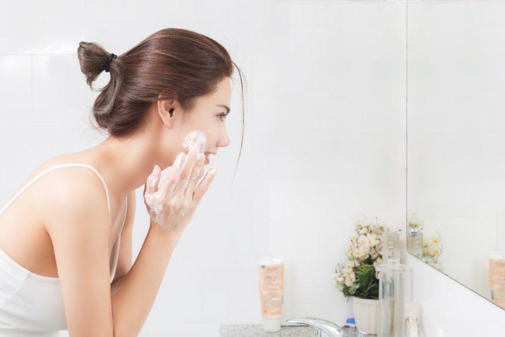 cleansing blemish free