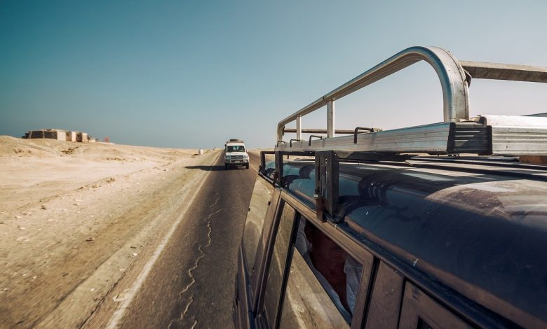 Top jeep road
