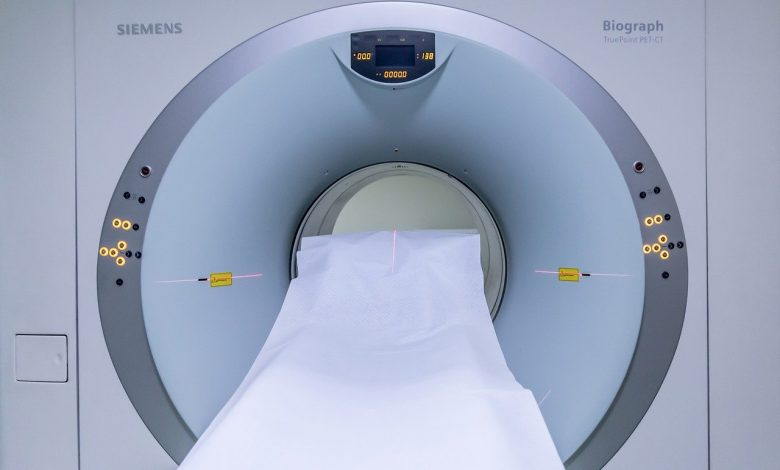 MRI bed